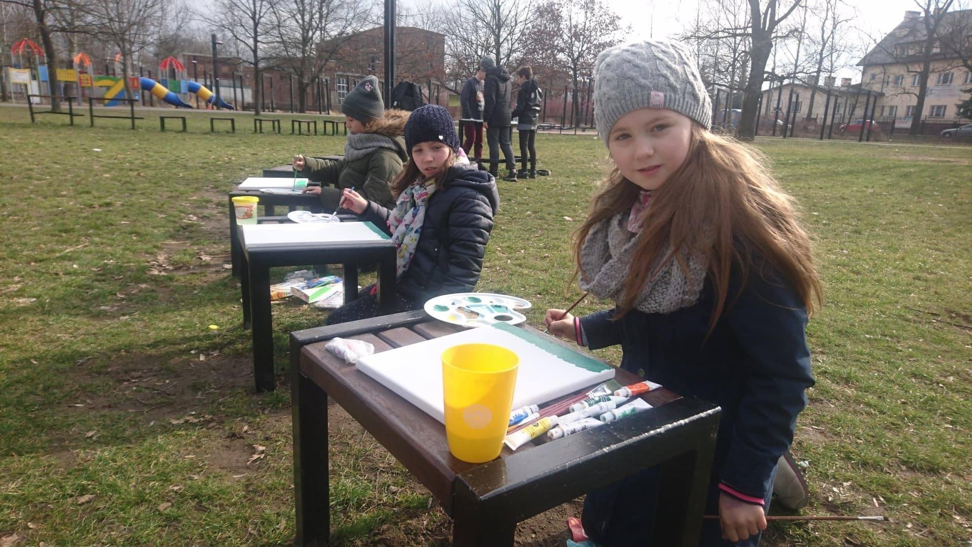 Pierwszy Dzień Wiosny – plener przyrodniczo-plastyczny klasy IV – VIII