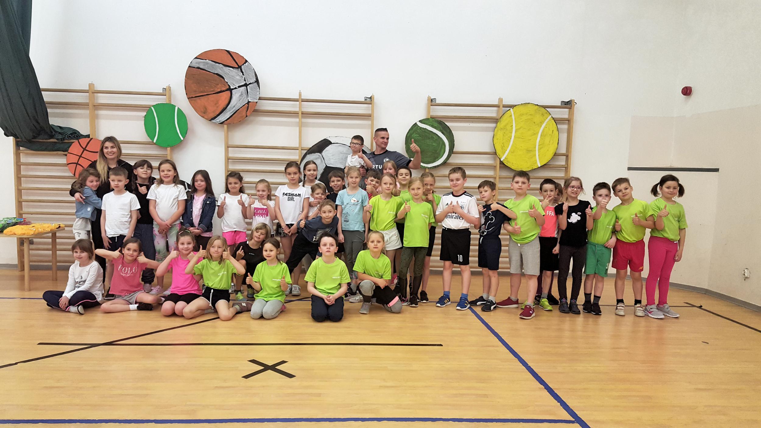 """Międzyszkolne rozgrywki sportowe dla klas 1-2 – """"Mali Sportowcy na Start"""""""