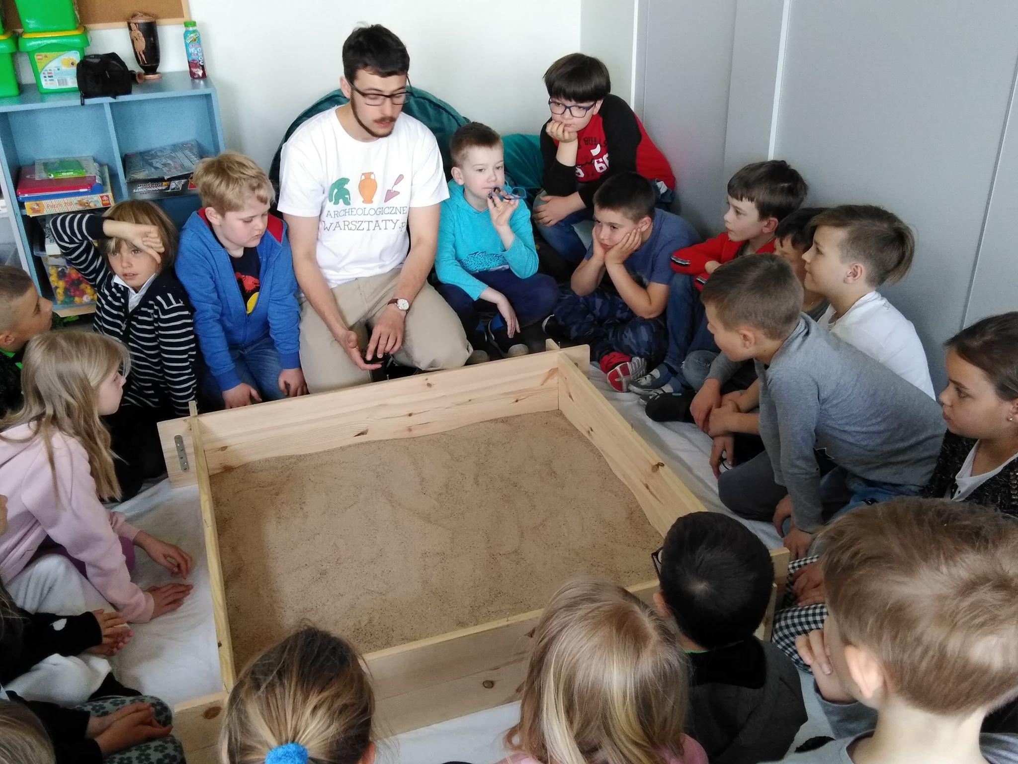 Warsztaty archeologiczne dla kas 1-3